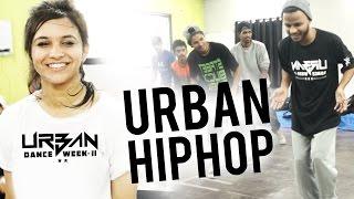 Urban HipHop Workshop by Sagar at Urban Dance Week - Pune