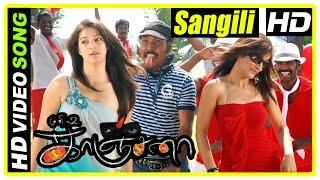 Kanchana Movie Scenes | Sangili Bungili Song | Raghava's house is haunted | Lakshmi Rai | Muni 2