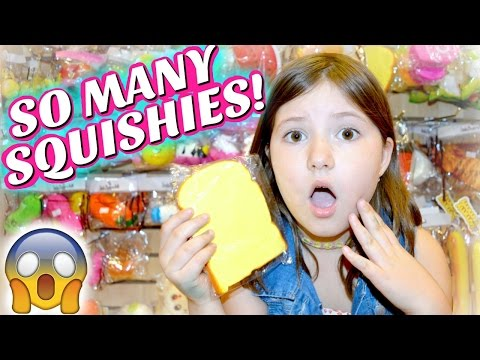 Omg Squishies At Target Squishy Amp Slime Shopping Vlog