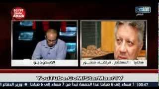 خناقة رهيبه بين مرتضي منصور واحمد ماهر وسب وقذف علي الهواء 18 +