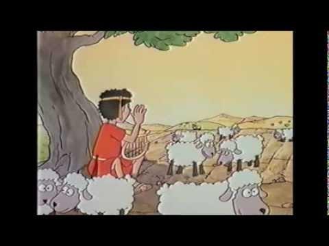 As Mais Belas Histórias da Bíblia Para Crianças Davi e Golias