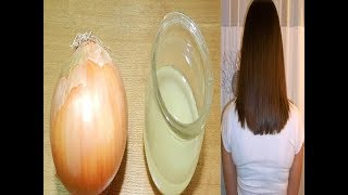 ماذا يحدث عند وضع البصل على الشعر.. لن تصدق !