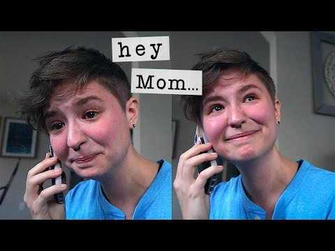 Xxx Mp4 Calling My Mom To Tell Her I M Trans 💙 3gp Sex