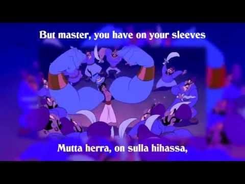 Xxx Mp4 Disney S Aladdin Friend Like Me Finnish Lyrics Translate HD 3gp Sex