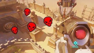 Overwatch - Craziest Snipes