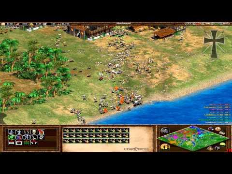 Age of Empires II 103ª Partida Multijugador En Línea Lucas Juan Cruz Tulio y Fede