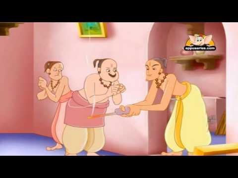 Tenali Raman and the Greedy Brahmins in Hindi.