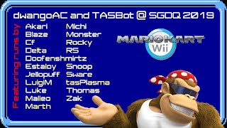 TASBot pla.. owns Mario Kart Wii, Explained expertly by Malleo and crew (SGDQ 2019 TAS block)