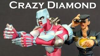 Super Action Statue CRAZY DIAMOND Figure Review (Jojo's Bizarre Adventure)