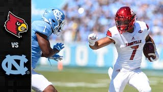 Louisville vs. North Carolina Football Highlights (2017)