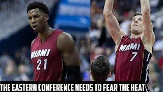 The Miami Heat Are SCARY - Can They Upset The Top Teams In The East?