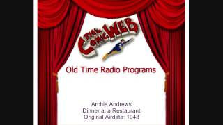 Archie Andrews: Dinner at a Restaurant – ComicWeb Old Time Radio