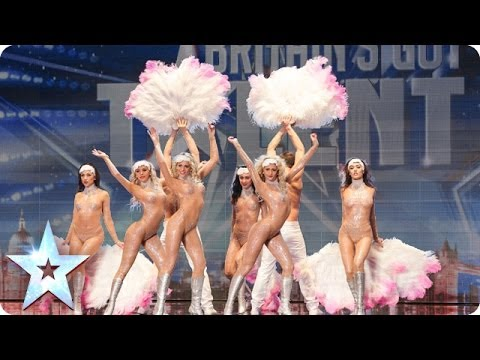 Crazy Rouge add some cabaret glamour Britain s Got Talent 2014