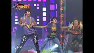 【TVPP】2AM - Hot Issue (4MINUTE), 투에이엠 - 핫 이슈 (포미닛) @ Star Dance Battle