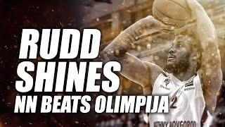 Victor Rudd shines as NN beats Olimpija in Eurocup