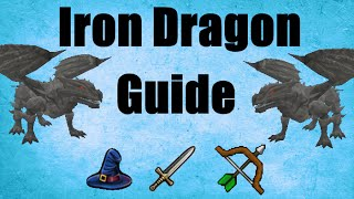Iron Dragon Slayer Guide 2007 Location / Loots Oldschool Runescape (OSRS)