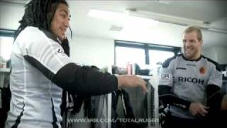 Total Rugby - Nonu & Haskell Changing Room Banter