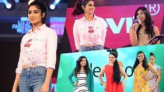 Deepti Sati Ramp Walk On Kochi Lulu Fashion Week 2018