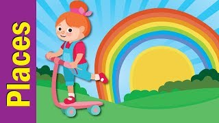 Where Are You Going? | Places Song | Kids Learning Song | ESL for Kids | Fun Kids English