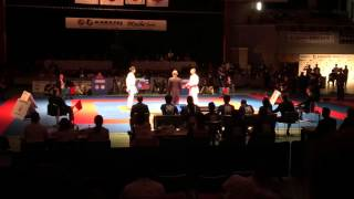 POURSHAB ZABIOLLAH (iran karate federation,IRI) vs ARAGA RYUTARO (JPN,JPN)