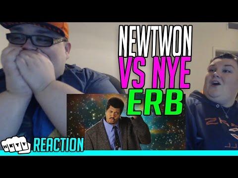 SIR ISAAC NEWTON v BILL NYE ERB REACTION!!🔥