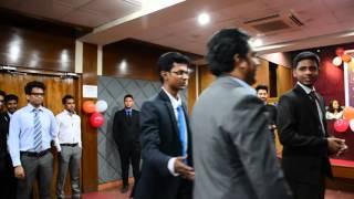 Crash Course Mentor Ayman Sadiq at Certificate Ceremony