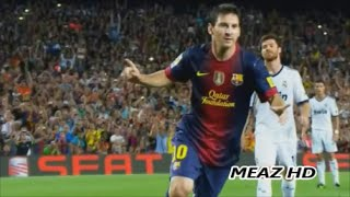 Lionel Messi All 21 Goals & 13 Assists Vs Real Madrid