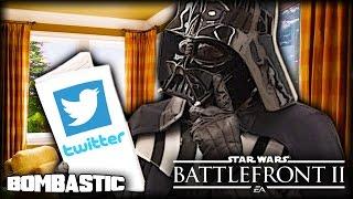 Star Wars Battlefront 2 (2017) - Darth Vader Reads EA Developers Tweets