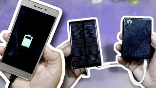 Como fazer um power bank com painel solar!