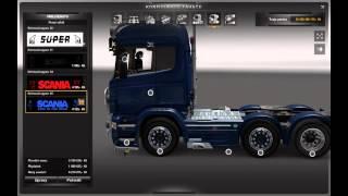 Euro Truck SImulator 2 Scania V8 Tuning 3.0
