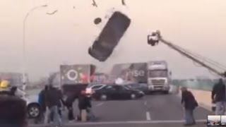 Car Stunt Massive Fail  - Behind the Scenes Clips