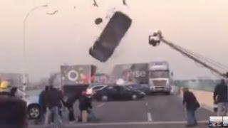 Car Stunt Massive Fail  - Behind the Scenes Clips