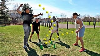 IMPOSSIBLE SPIKEBALL TRICK SHOTS CHALLENGE!!!