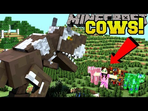 Xxx Mp4 Minecraft 16 EPIC NEW COWS GAMINGWITHJEN COW SMART COW MORE Mod Showcase 3gp Sex