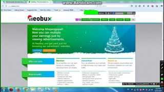 How To Earn Money Online NeobuX, ptc site [hindi] Tips and Tricks