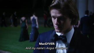 MacGyver (2016) S01E01 • THE NEW [Original] CAST