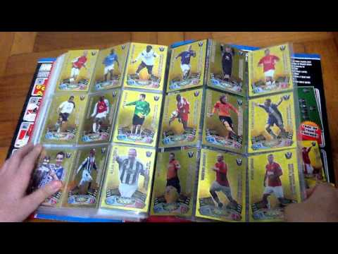 Match Attax 11 12 Binder Completed All Cards Golden Moments MOTM 100 Club