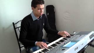 Gihad Karam 2013/2014 instrumental rai Cheb Akil al3ichk almamnou3 instrumental Korg Pa50