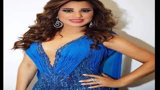 نجوى كرم تتألق في سماء دبي ب للون الأزرق... شاهد