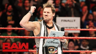 Chris Jericho puts 2017 Super Bowl Champion Tom Brady on