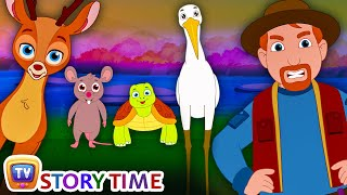 The Forest Friends | Wild Animals Bedtime Stories for Kids | ChuChu TV Storytime for Children