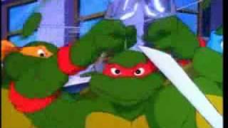 Teenage Mutant Ninja Tutles Theme (4th season, Short version