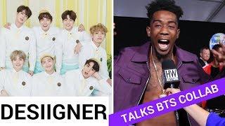Desiigner Talks BTS And Steve Aoki Collaboration