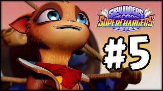 Skylanders SuperChargers - Gameplay Walkthrough - Part 5 - The Dragon!