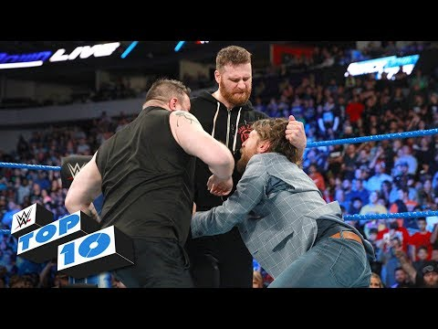 Xxx Mp4 Top 10 SmackDown LIVE Moments WWE Top 10 March 20 2018 3gp Sex