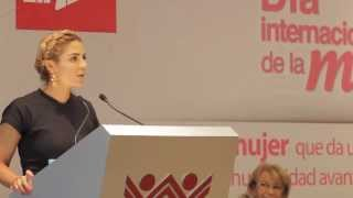 DIscurso Ivette Moran -  Dia De La Mujer