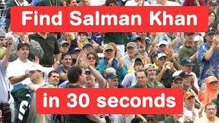Find Salman Khan in 30 seconds - Tiger Zinda Hai Challenge