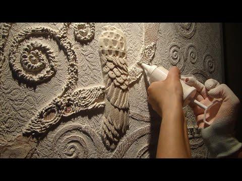 Барельеф на стене своими руками для начинающих фото