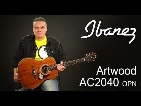 Xxx Mp4 Обзор акустической гитары Ibanez Artwood AC2040 OPN 3gp Sex