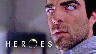Peter Persuades Gabriel to Paint // Heroes S03 E4 - I Am Become Death